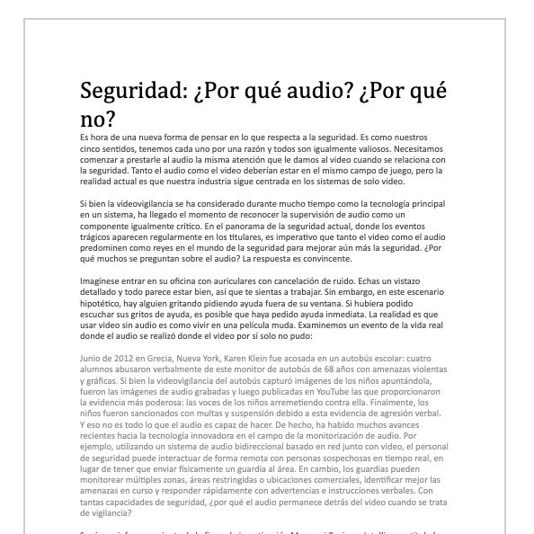 Monitoreo De Audio